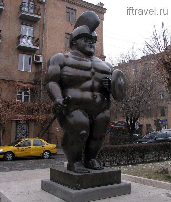 Римский воин, Ереван