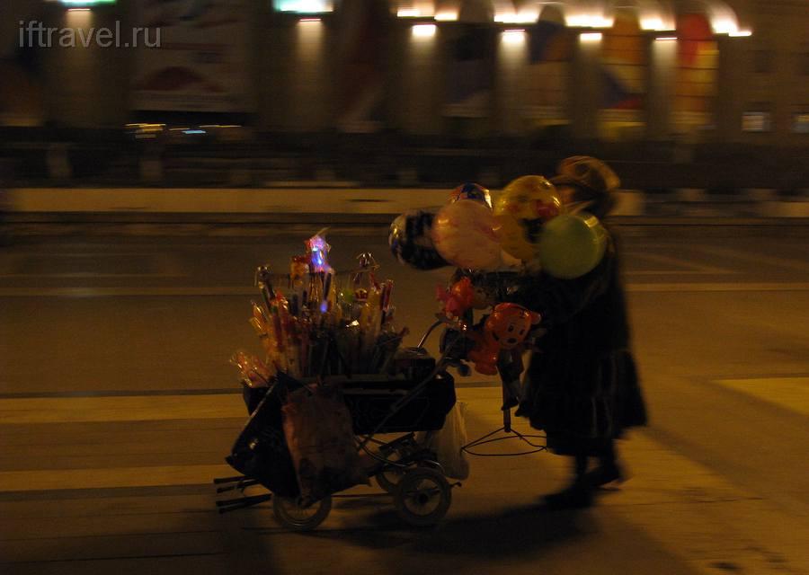 Бабушка с мигалками, Ереван