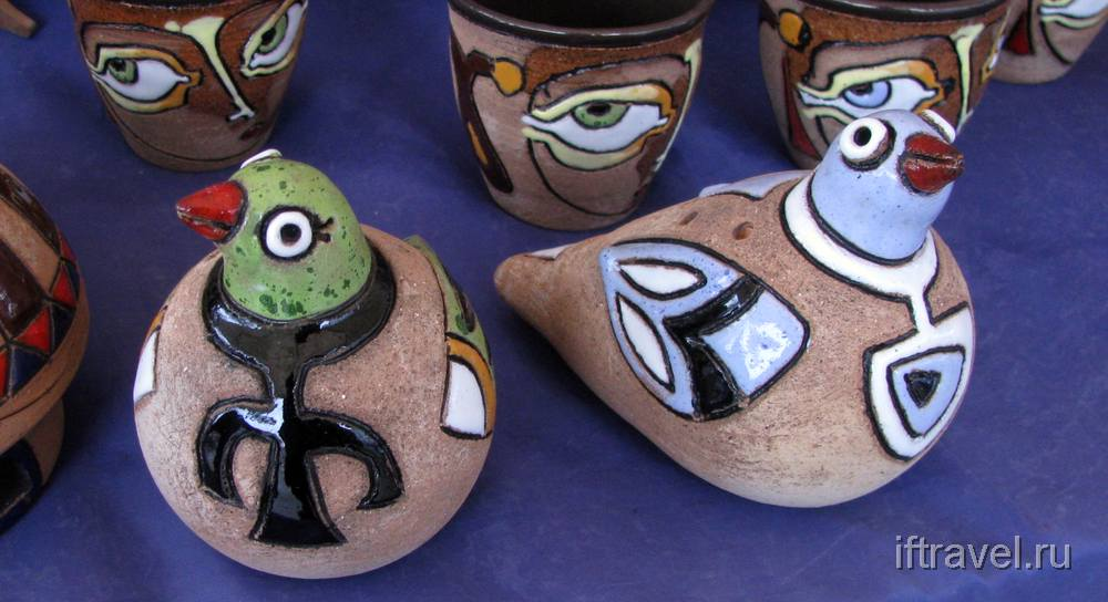 Аутентичные глиняные свистульки (Ереван)