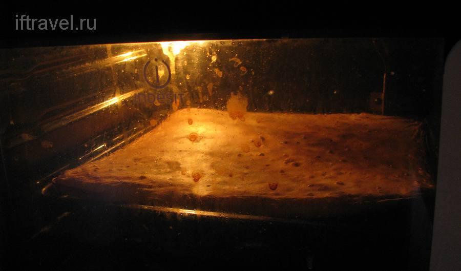 Хлеб в духовке