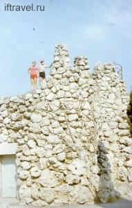 Смотровая площадка за Шаляпинской скалой