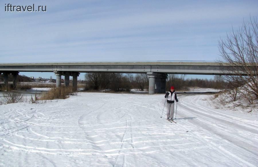 Мост после Бокино