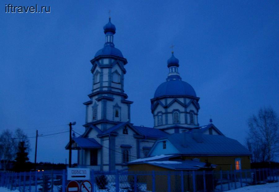 Михайло-Архангельская церковь в Царевке