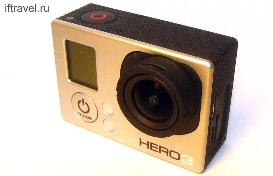 GoPro Hero 3 White: собственно, камера