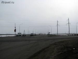 Перекресток дороги на Лысые горы и окружной