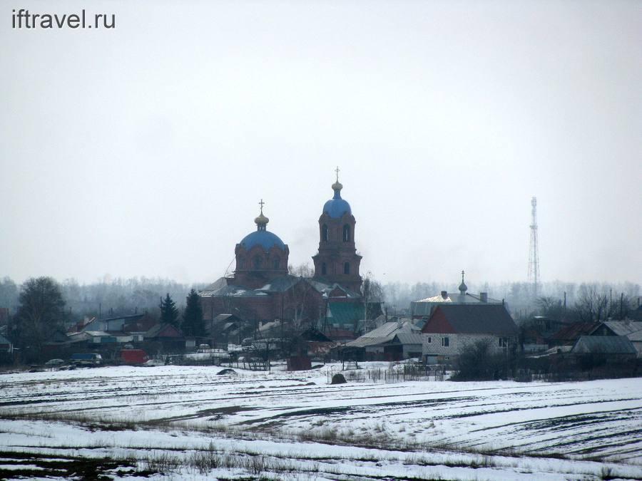 Церковь с. Пушкари