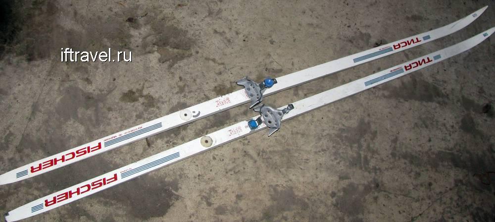 Те самые лыжи Тиса-Фишер