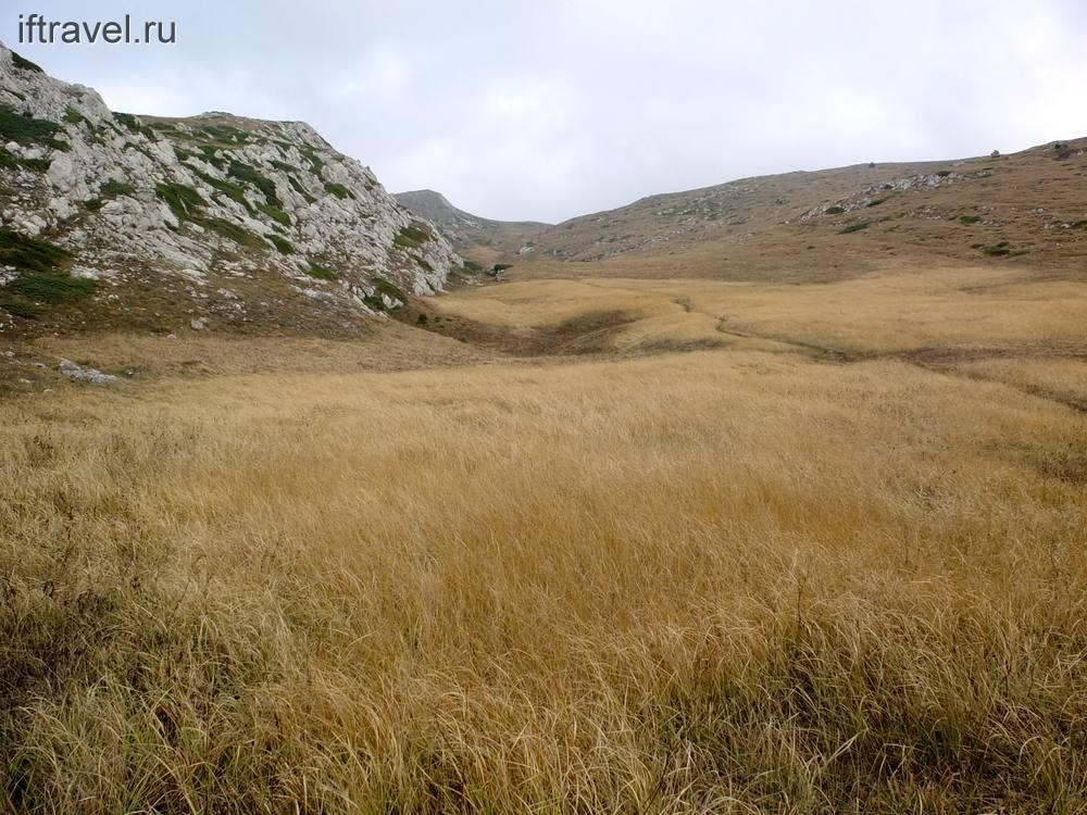 Верхнее плато Чатыр-Даг