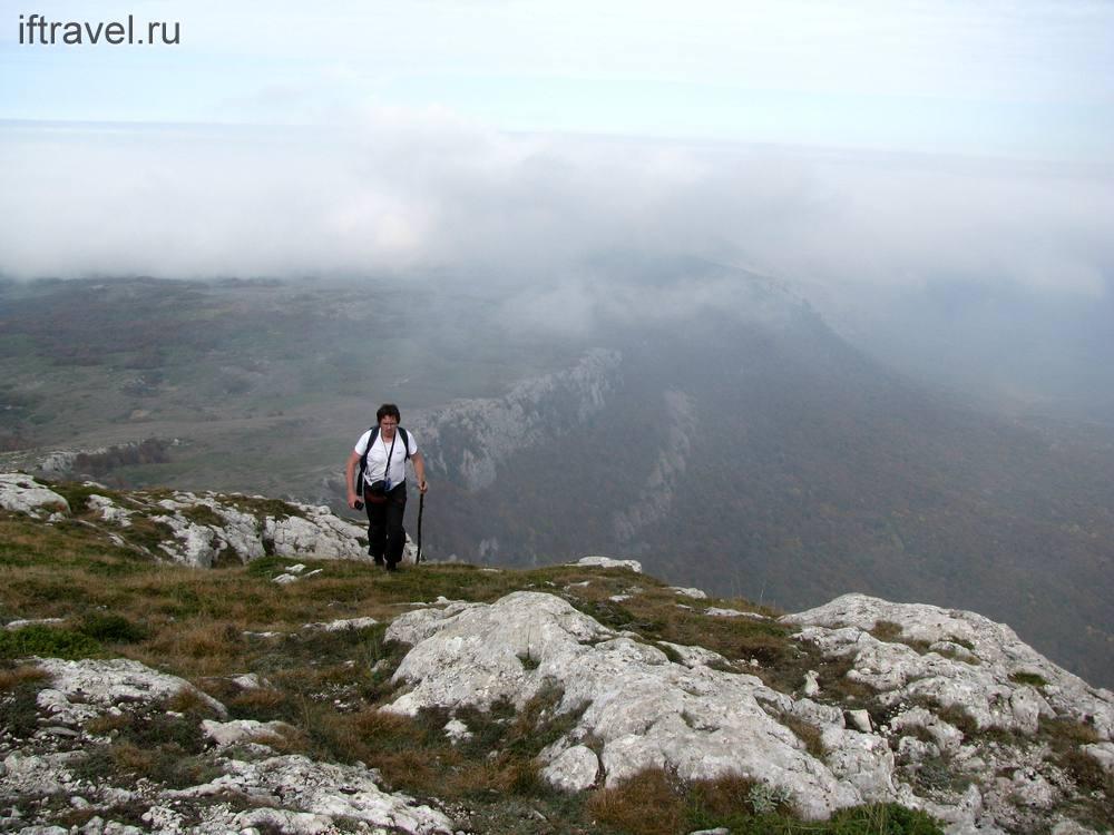 Попов убегает от тумана