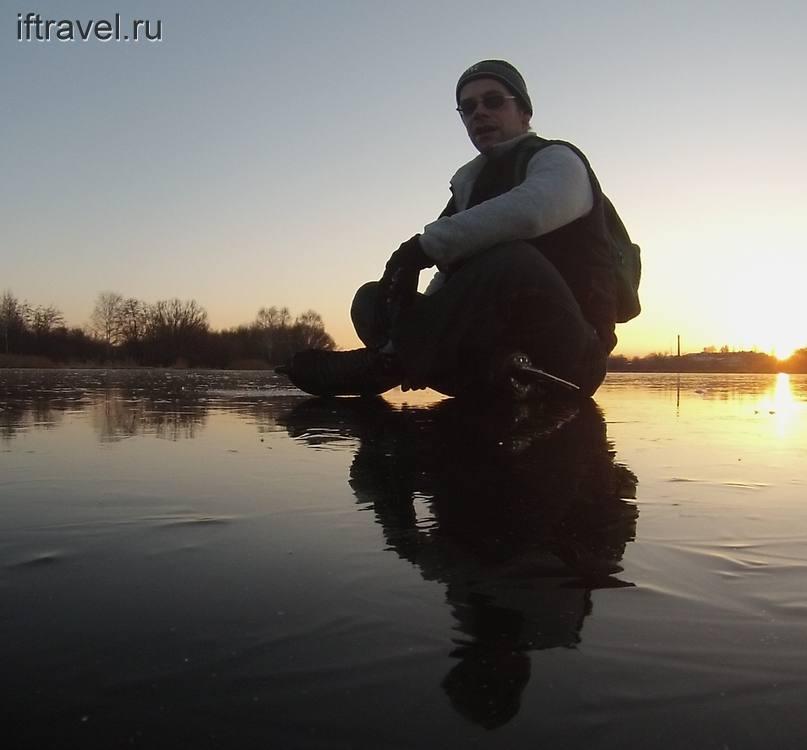 Тамбовское море, закат