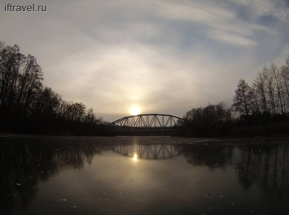 Ж/д мост в Тригуляе