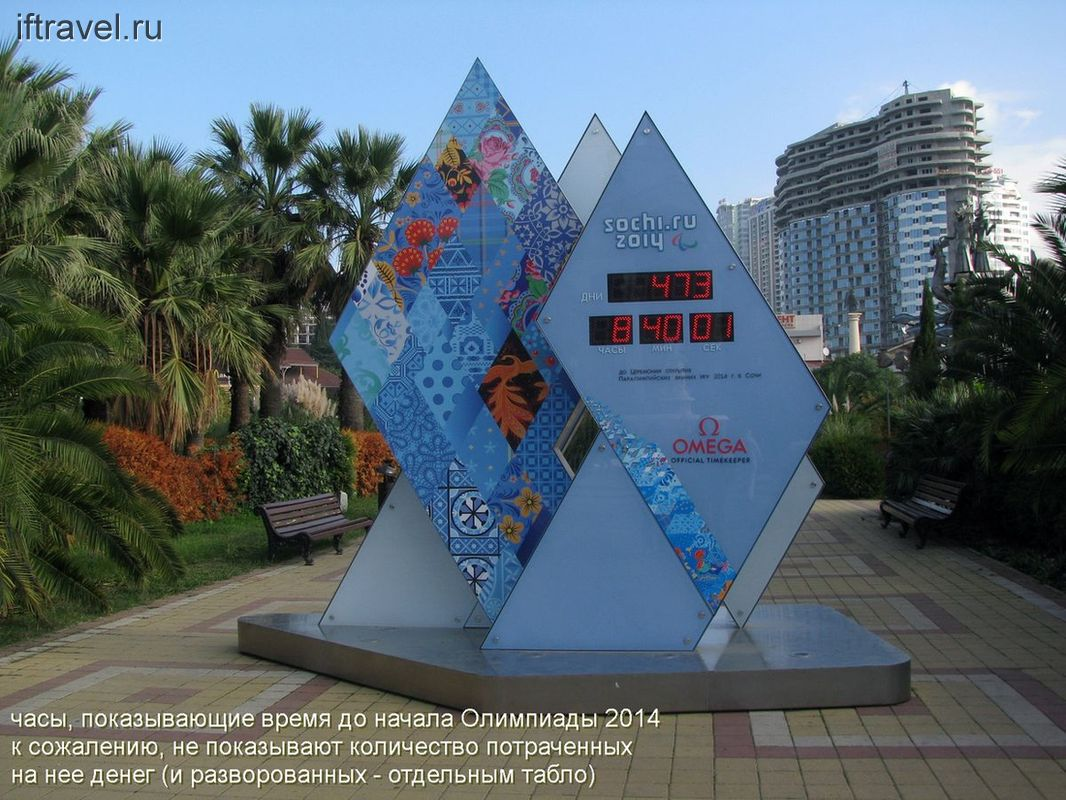 Олимпийские часы судного дня
