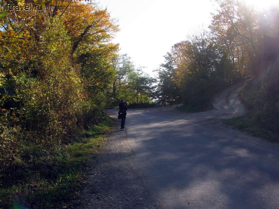 По дороге к Киселевой скале