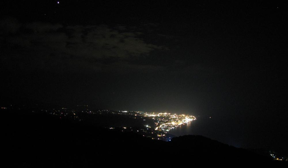 Вид с Ахуна на Сочи
