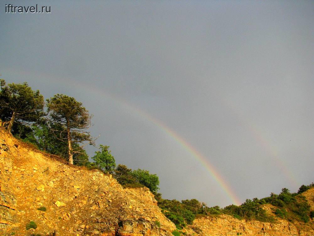 Радуга после дождя, Большой Утриш