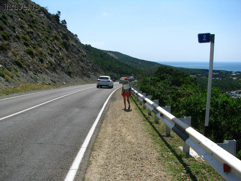 Дорога на Б. Утриш