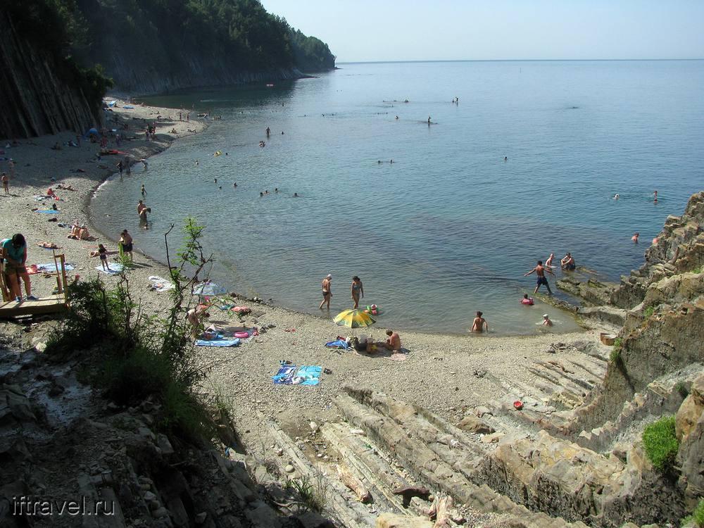 Пляж у Киселевой скалы