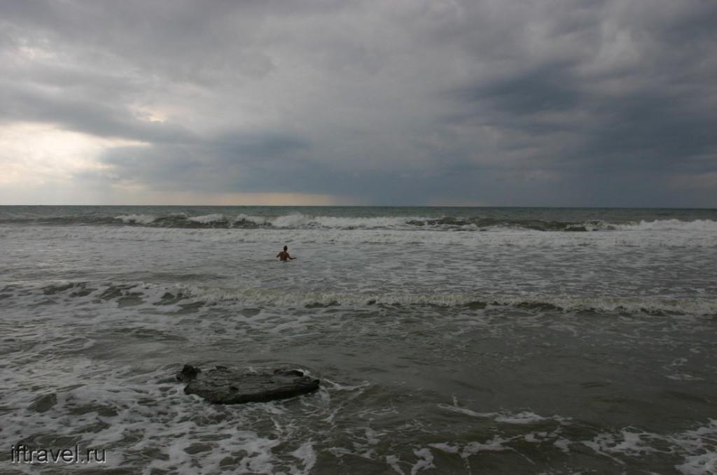 Такое вот было море...