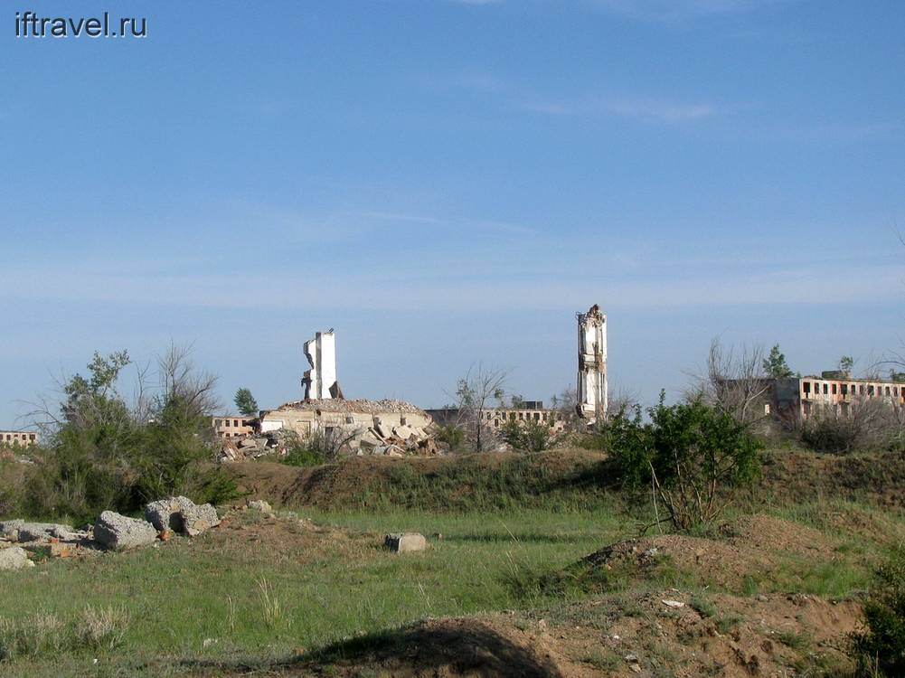 Чаган, руины