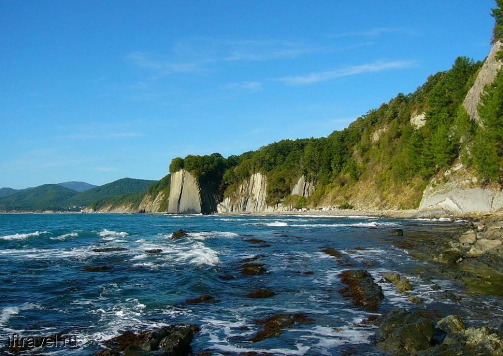 Киселева скала и пляж
