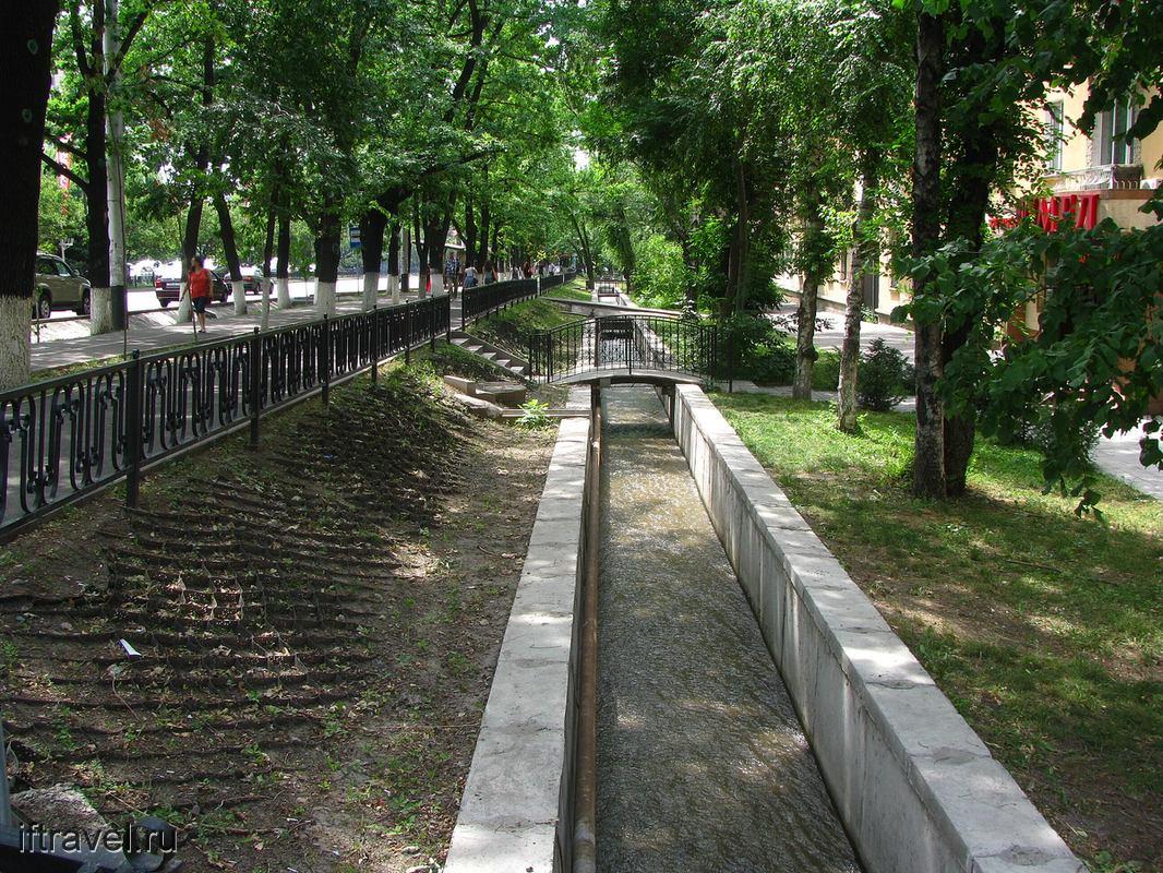 Зеленые улицы Алматы