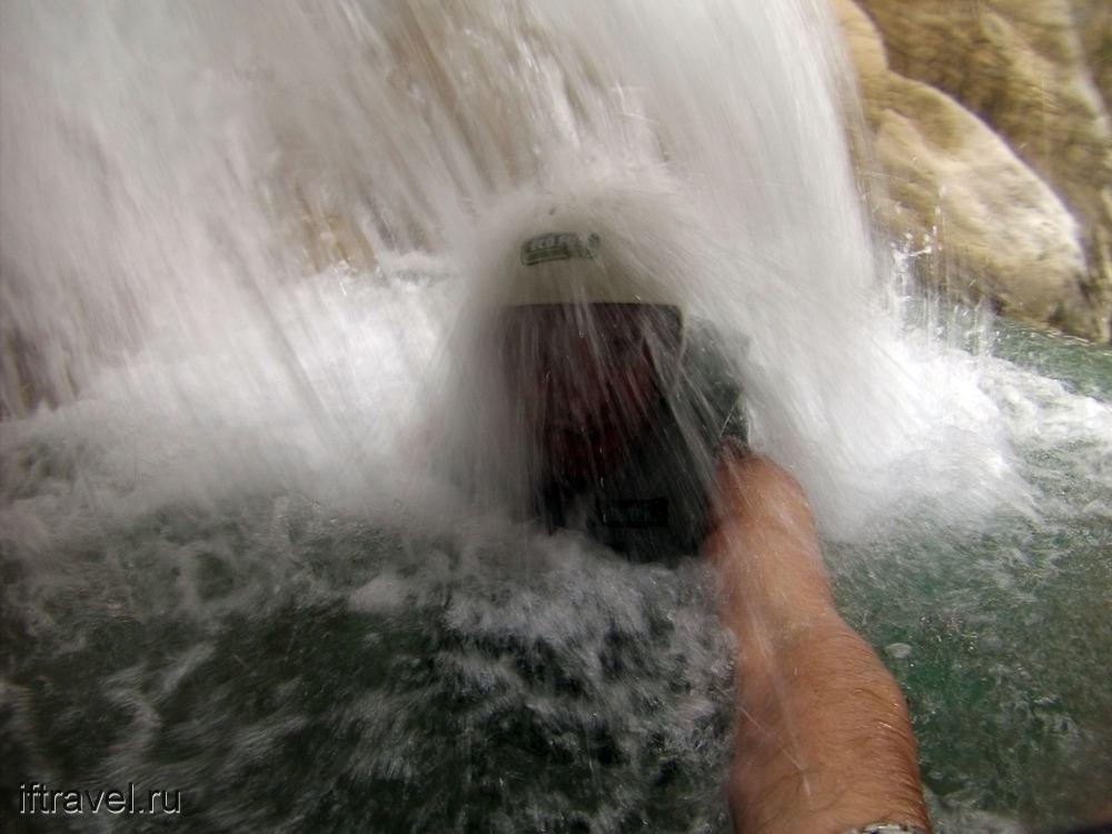 Всем привет из водопада
