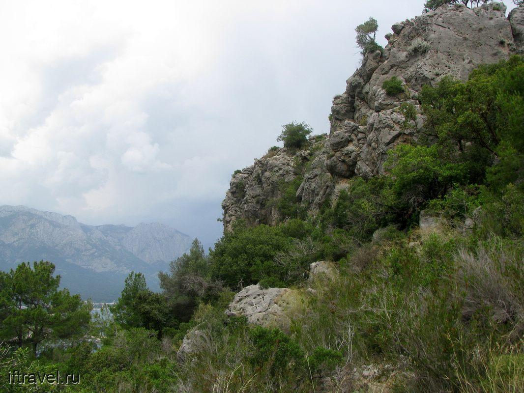 Кемер, горы