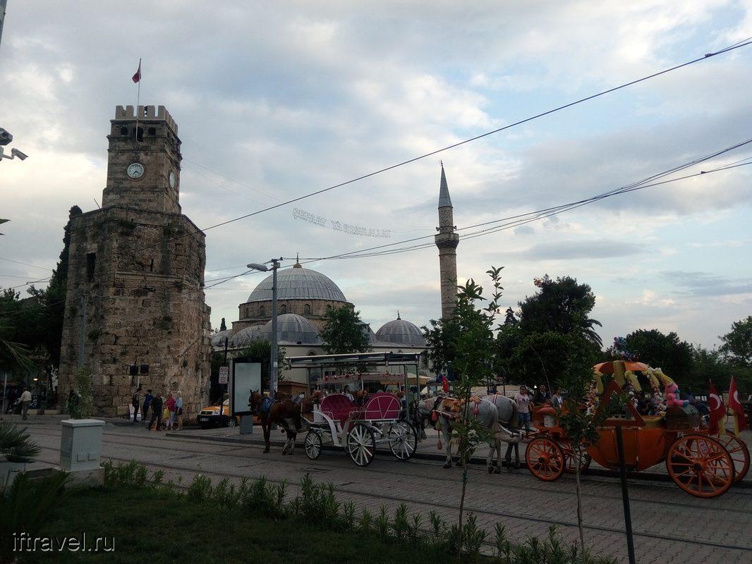 Анталия: старый город