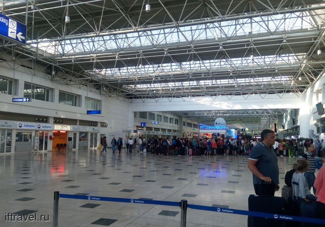 Анталия, аэропорт