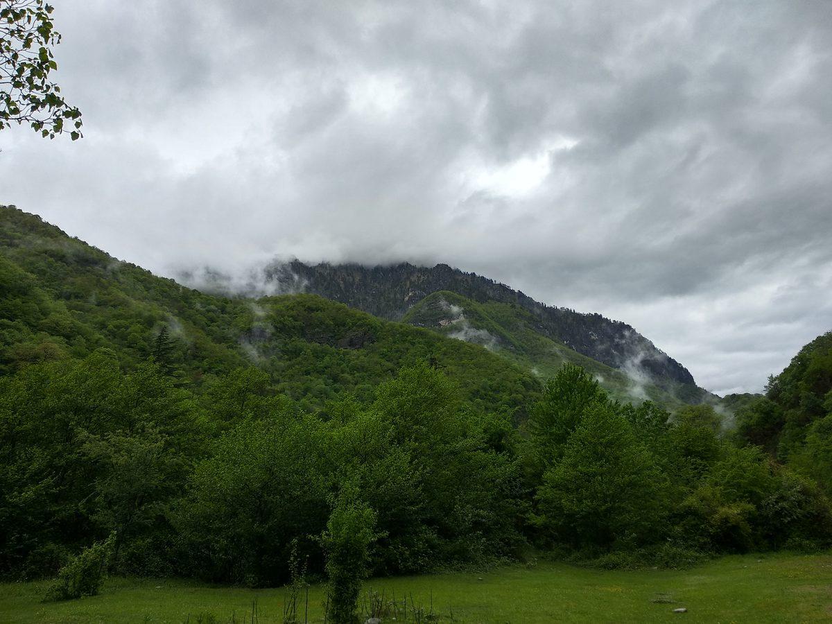 Горы, АБхазия