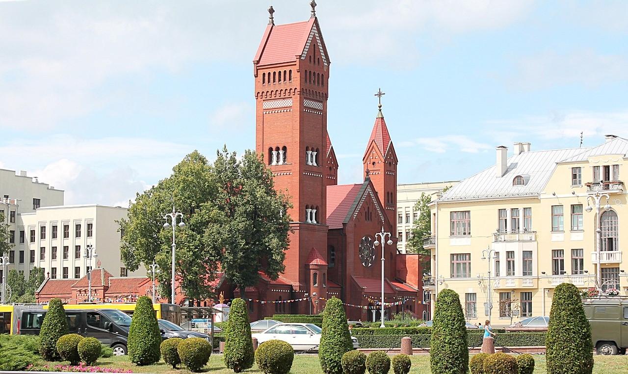 Костёл святого Симеона и святой Елены, Красный костел
