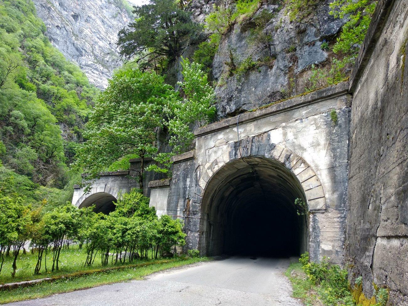 Тоннель на пути к Рице